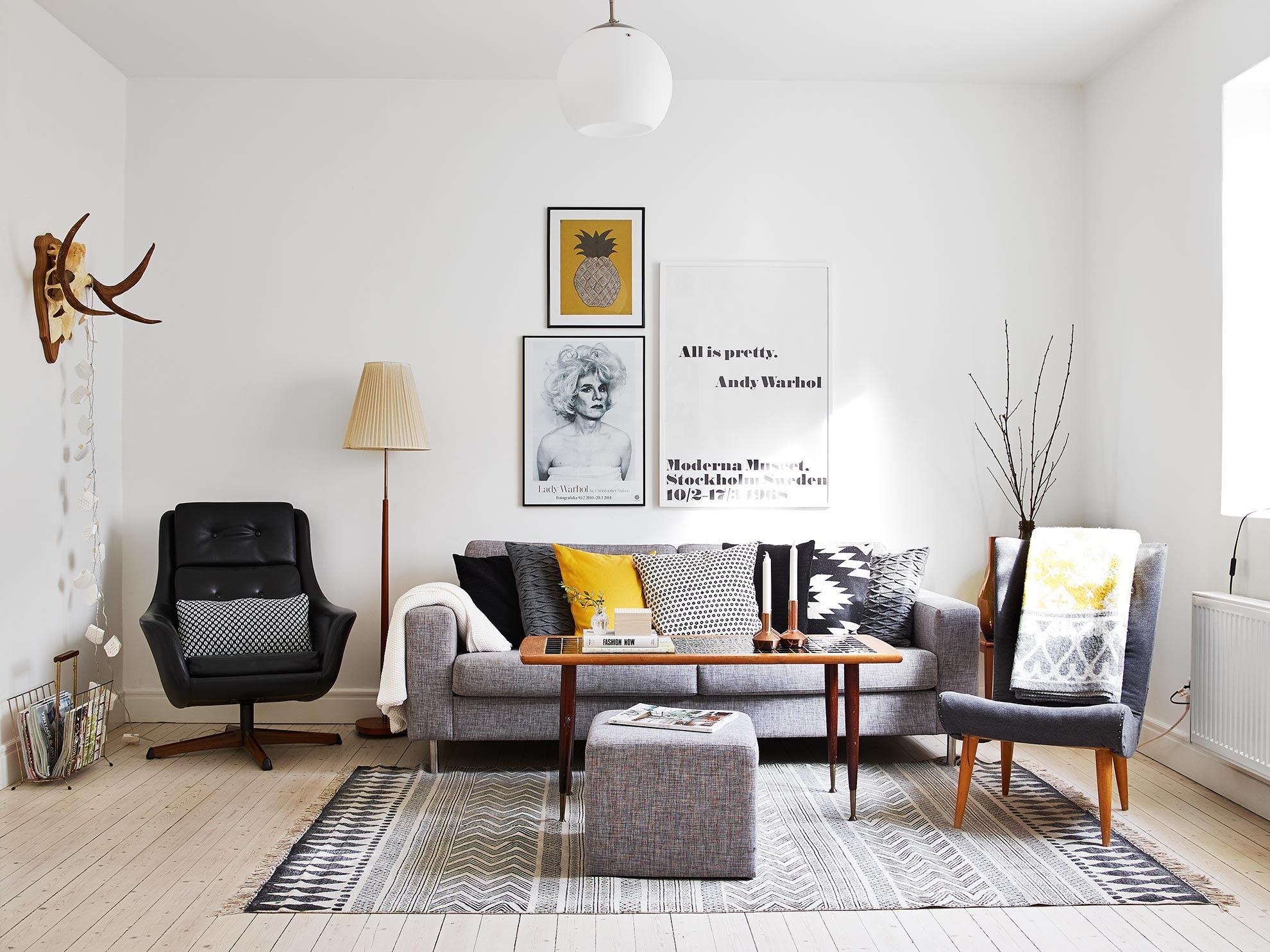 Decoraci n de interiores en color amarillo blog de dsigno - Decoracion de interiores fotos ...