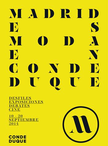 Semana de la Moda de Madrid_Centro Cultural Conde Duque