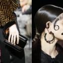 Desfile Givenchy inspiración victoriana