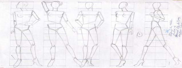 Dibujo De Figurines Para El Diseño De Moda Blog De Dsigno