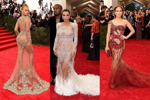 Gala Met Beyoncé, Kim Kardashian, Jennifer Lopez