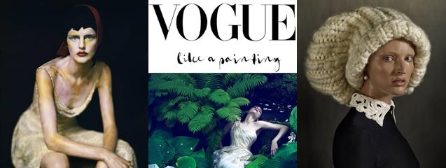 Vogue like a painting Museo Thyssen-Bornemisza 1