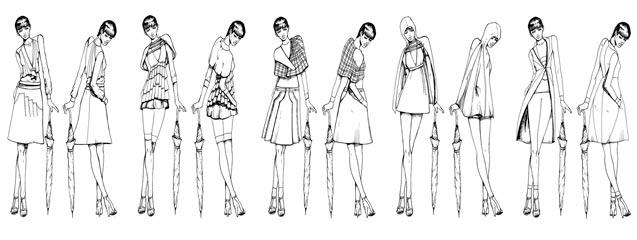 Boceto y figur n 1 paso para el dise ador blog de dsigno for Ideas para disenar ropa