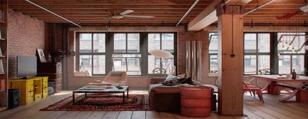 Inspiraci n deco estilo industrial blog de dsigno for Diseno de interiores estilo industrial