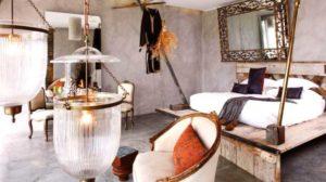 decoracion-de-hoteles mezclando diferentes estilos