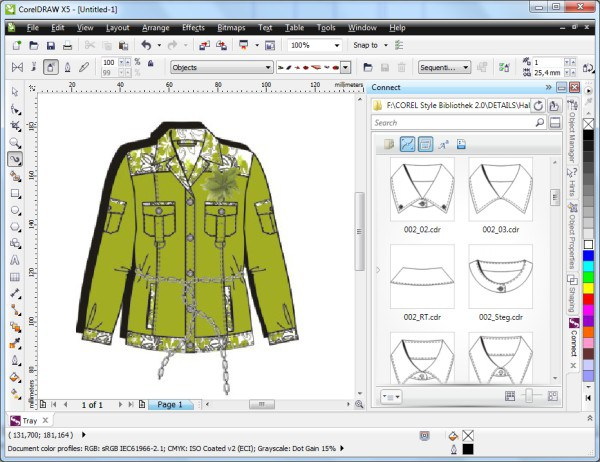 how to trace image in corel draw x6
