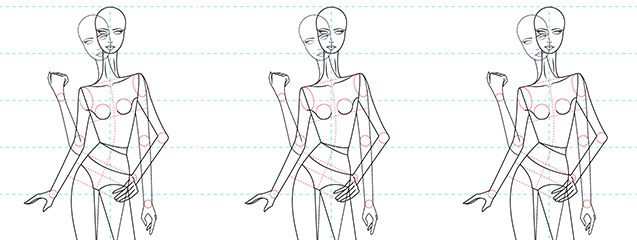 Los diferentes cánones de la figura humana.   Blog de DSIGNO