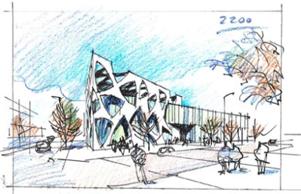 Bocetos de grandes arquitectos blog de dsigno - Arquitectos de interiores famosos ...