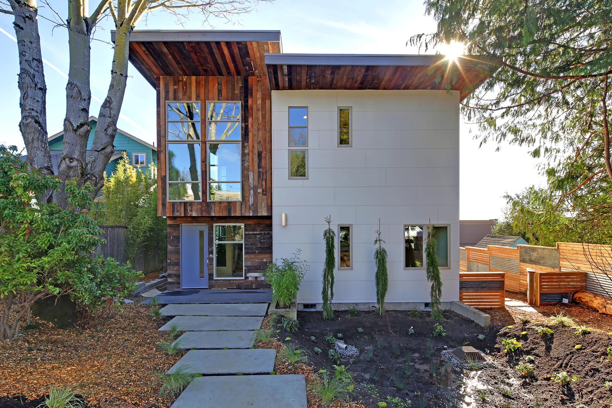 Un buen ejemplo de arquitectura sostenible blog de dsigno for Casas modernas en washington