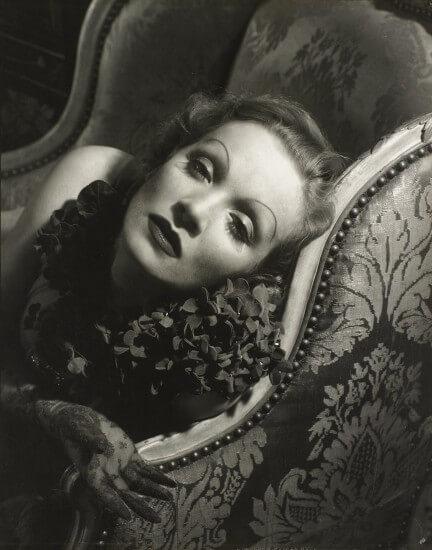 Marlene Dietrich por Edward Steichen