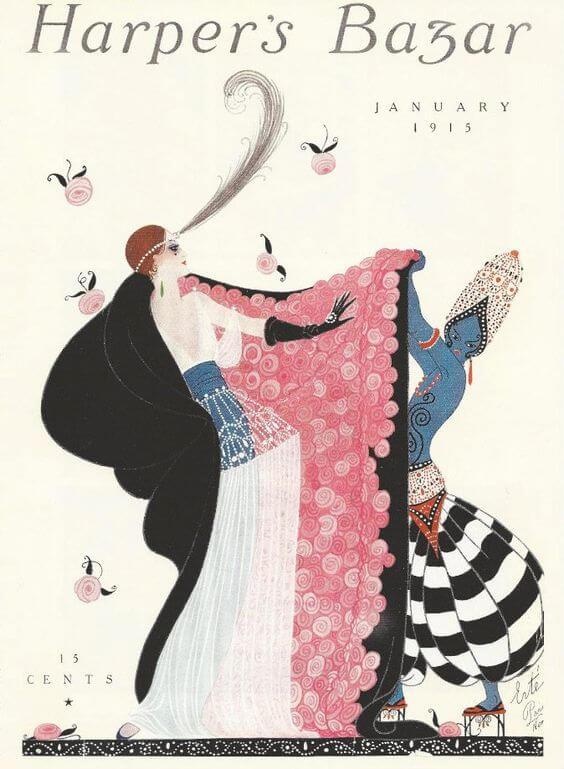 Pportada Harper's Bazaar 1915