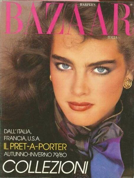 portada Harper's Bazaar años 80