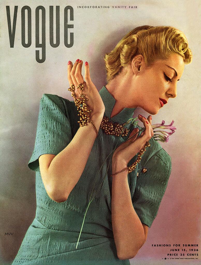 Portada en Vogue de Edward Steichen