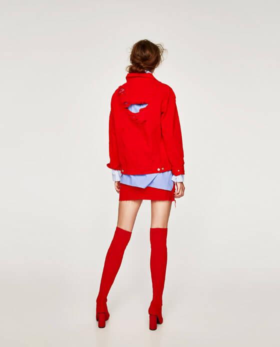 botas infinitas rojas