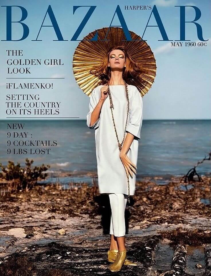 portada Harper's Bazaar años 60
