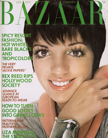 portada harper's bazaar Liza Minnelli.