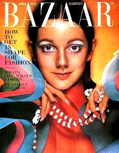 portada harper's bazaar años 70