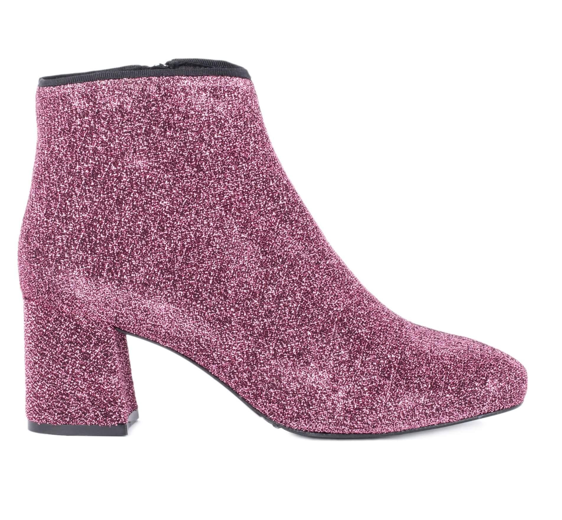 botines-calcetin-brillo-rosa