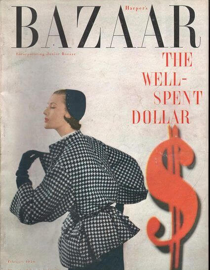 portada harper's bazaar años 50