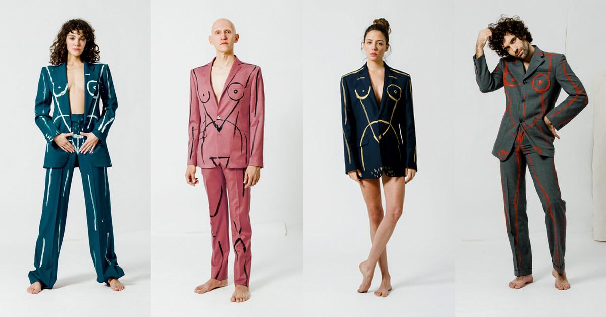 trajes de la mujer que llevo fuera