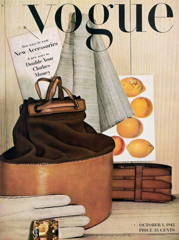 primera portada para Vogue de Irving-penn