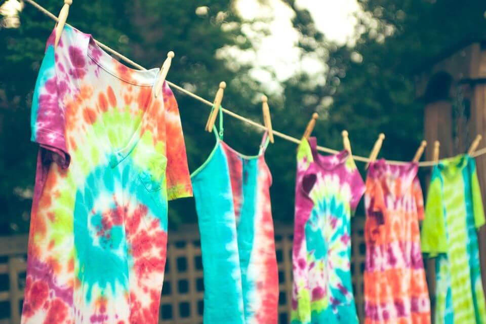camisetas estampado Tie Dye