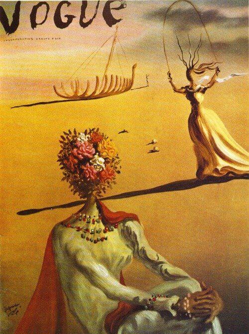 portada Vogue, Dalí 1939