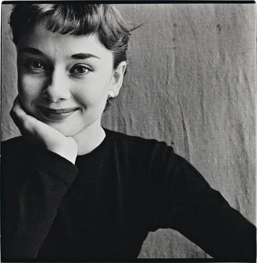 Audrey de irving-penn