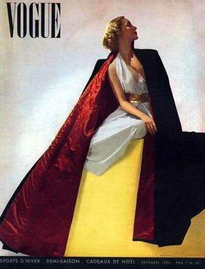 Edward Steichen portada para vogue