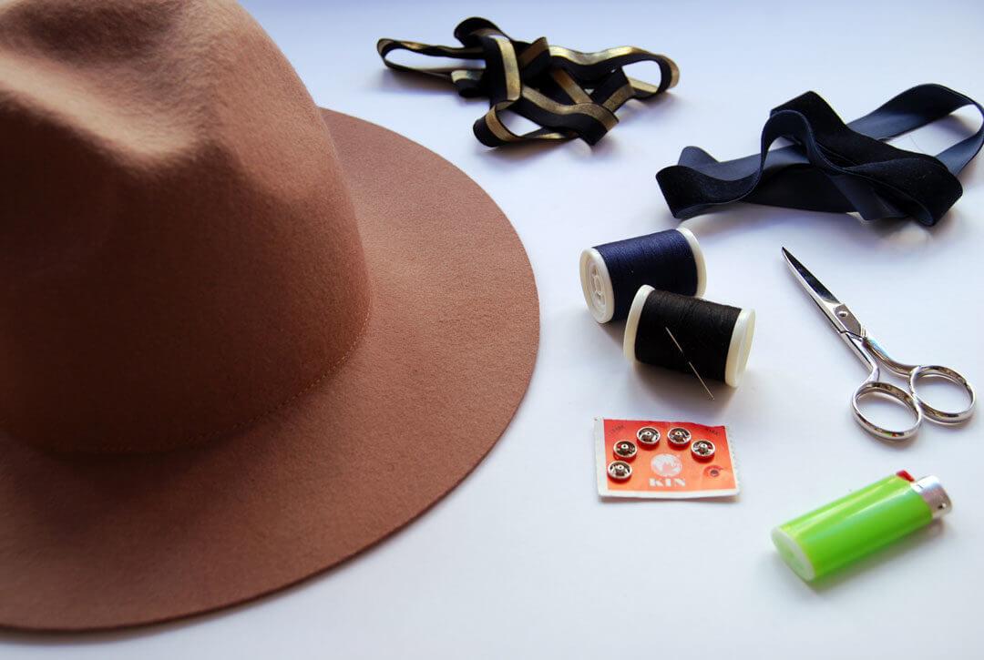 Ideas-clasicas-para-decorar-un-sombrero-de-fieltro-