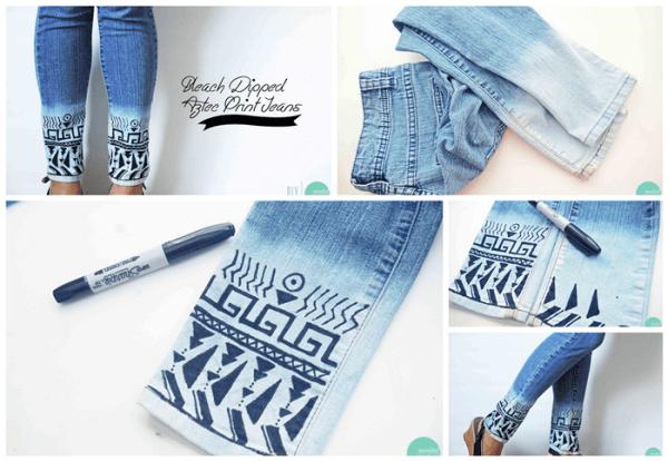 jeans azteca DIY