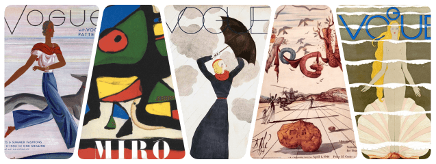 collage portadas arte vogue