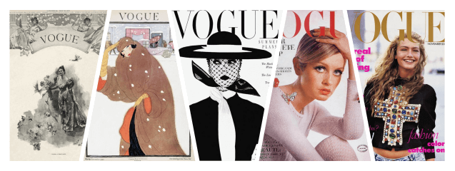 collage vogue historia