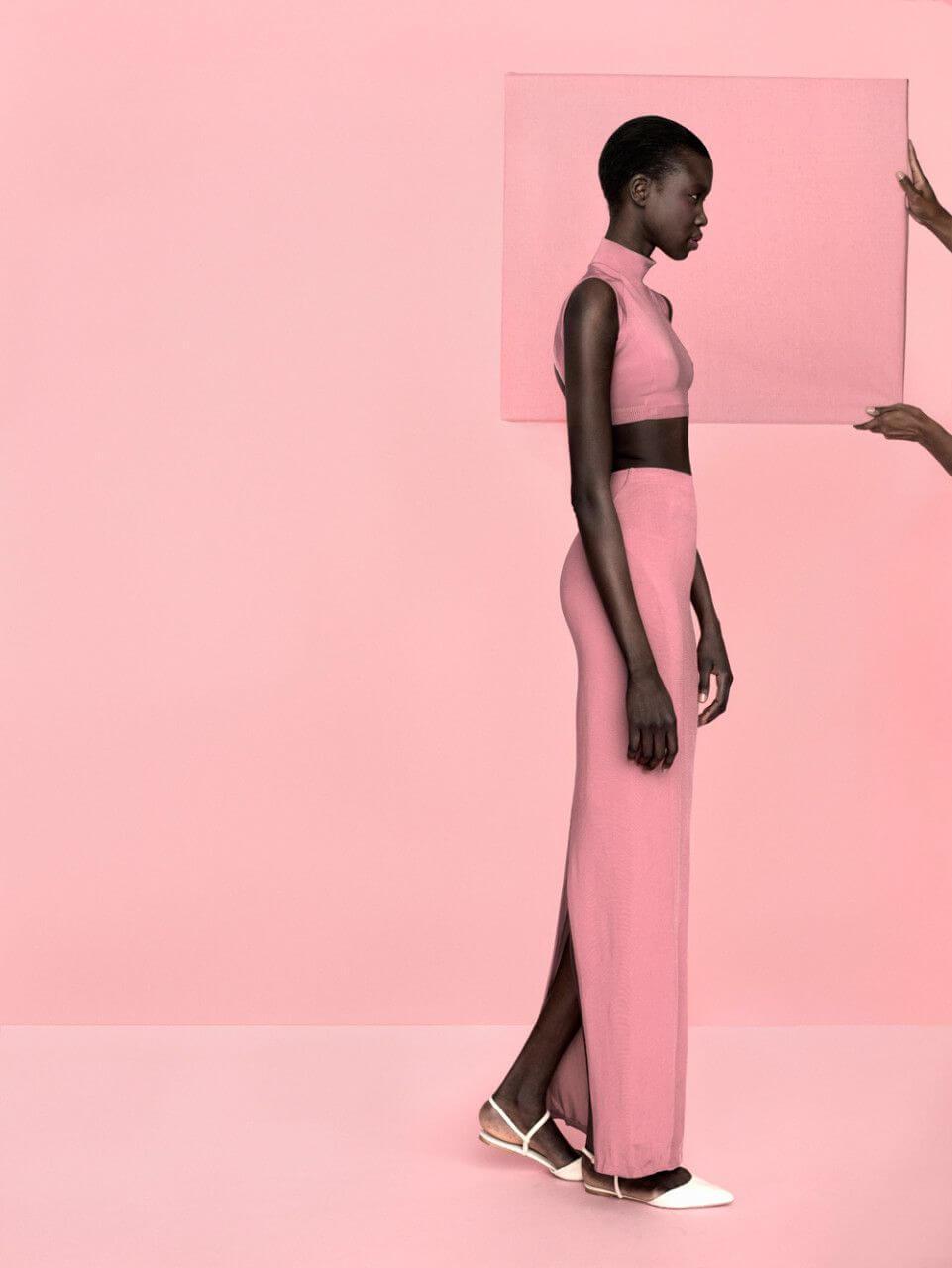 simbolismo del color rosa