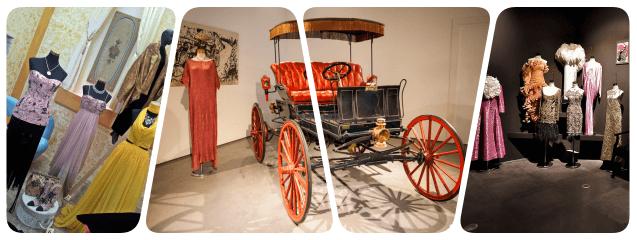 collage- Museo Automovilístico y de la Moda