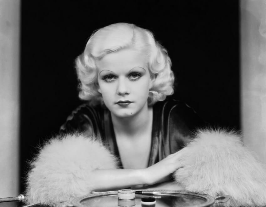 Jean-Harlow- peinados 1930