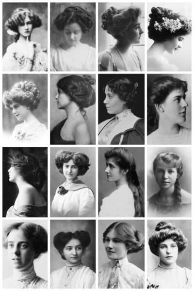 peinados belle époque