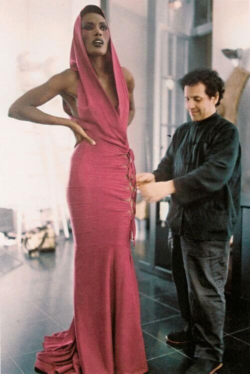 grace-jones- Azzedine Alaia