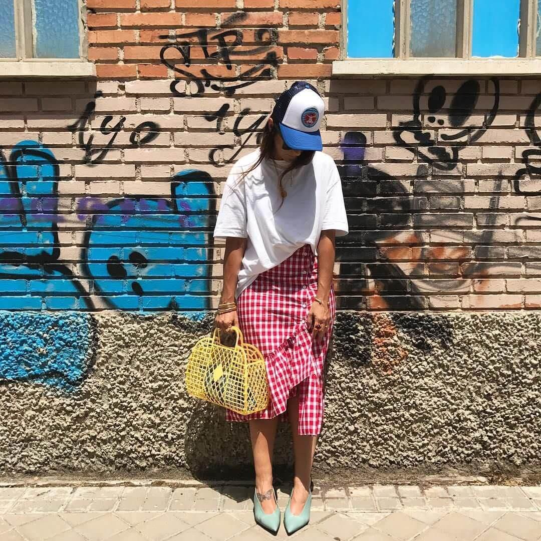 estilismo con jelly bag