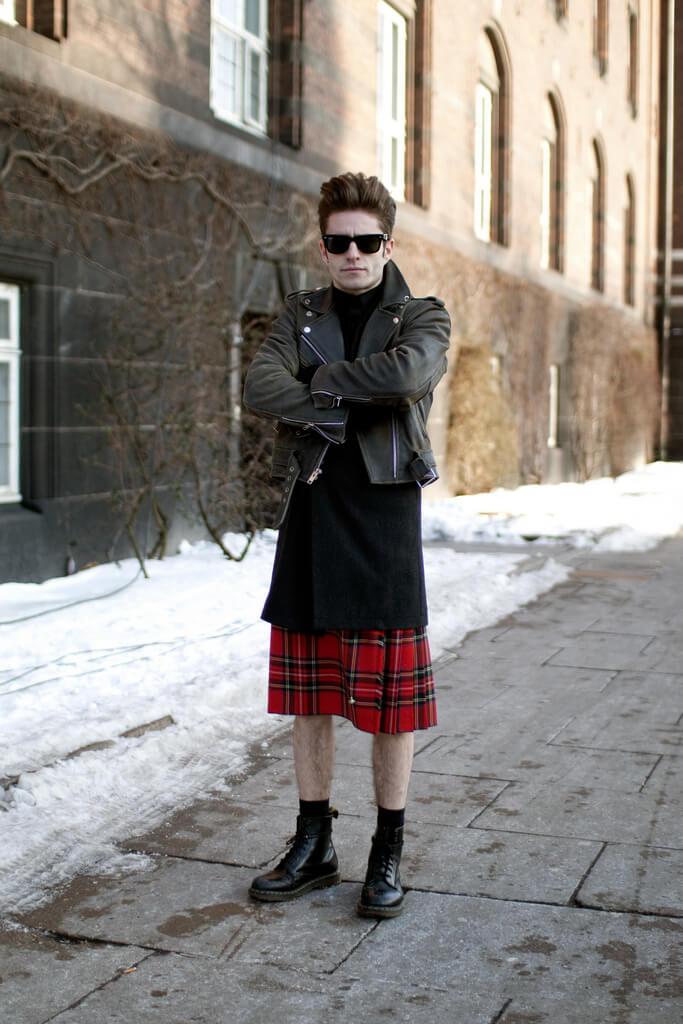 falda escocesa
