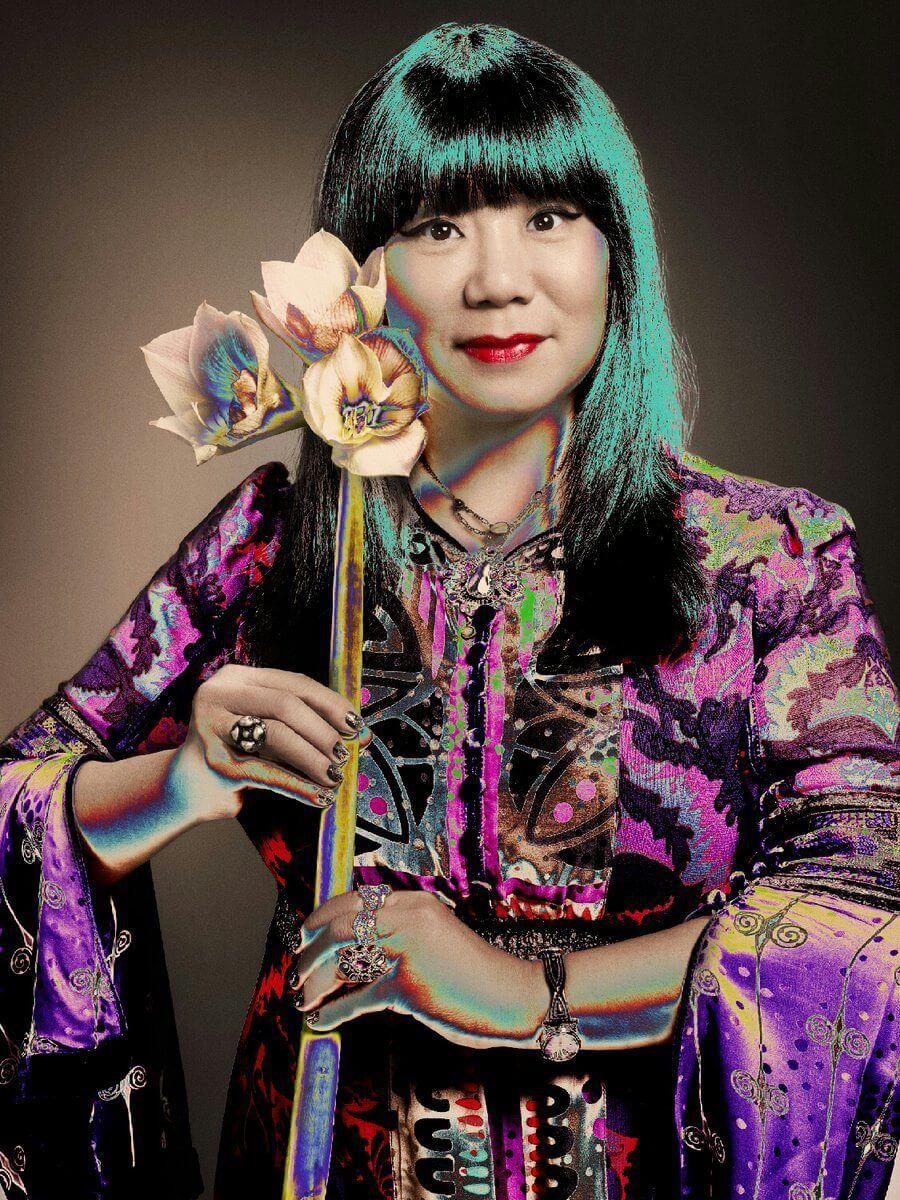 retrato de Anna Sui