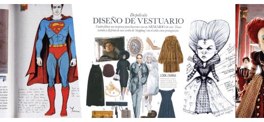 collage diseño de vestuario