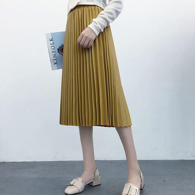 falda acordeon