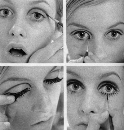Edie Sedgwick eyeliner