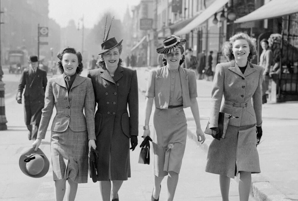 Años 40: la moda del improvisar y remendar | Blog de DSIGNO