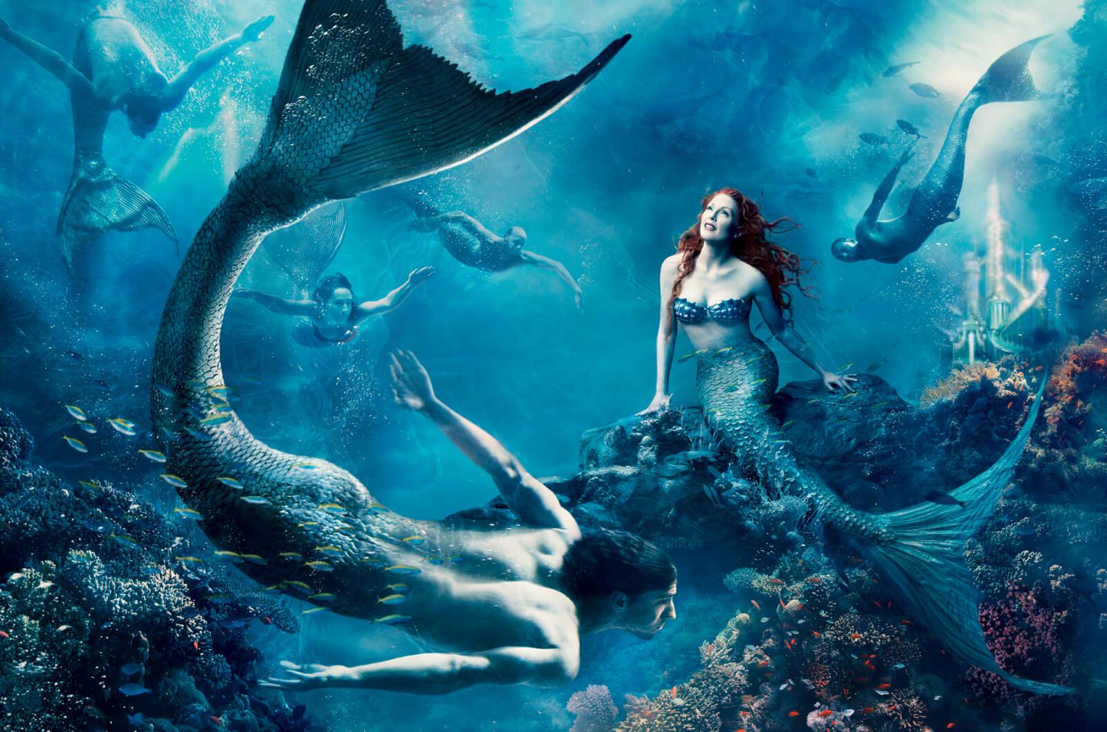 Annie-Leibovitz-Disney-Sirenita-Julianne-Moore-2
