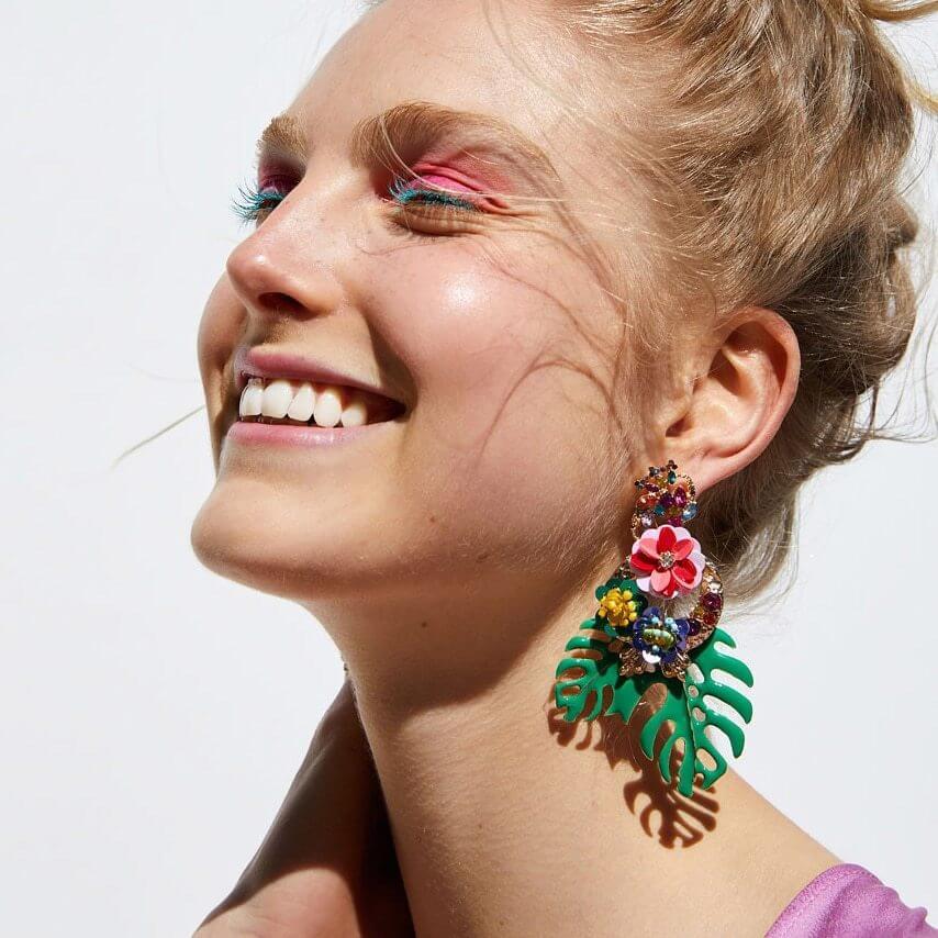 JUJIA-2019-joyería-de-moda-hojas-pendientes-para-las-mujeres-multicolor-pendientes-accesorios-Brincos