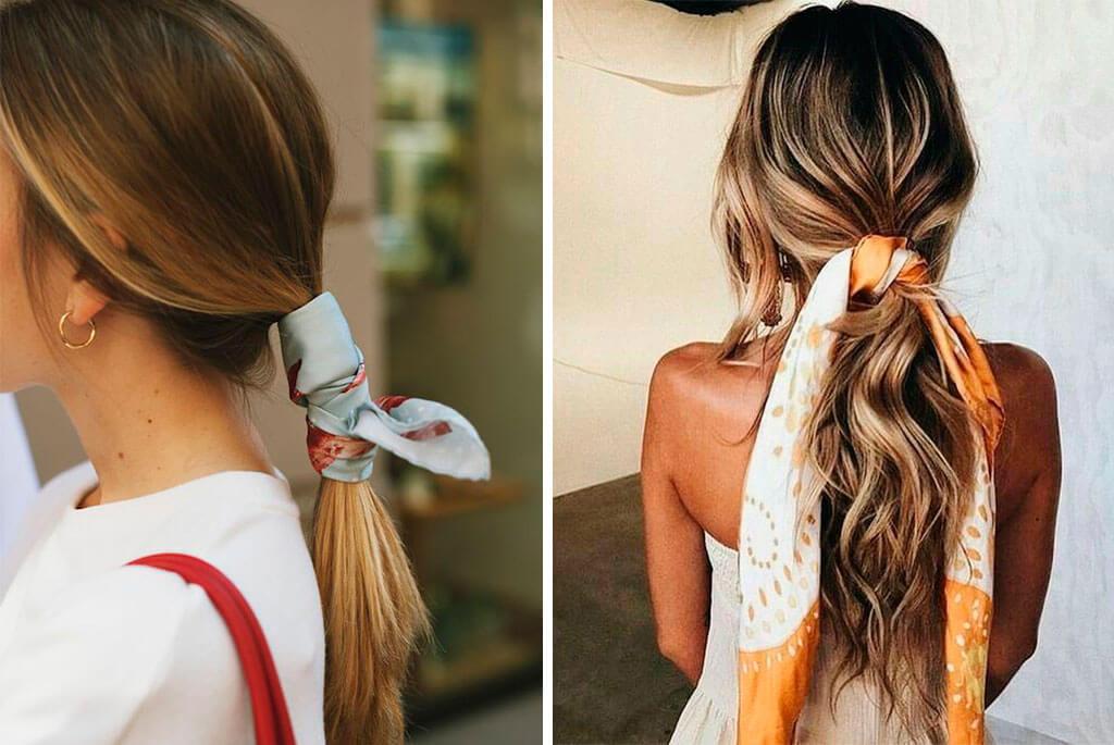 peinado-pañuelo-coleta