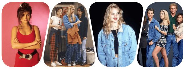 collage años 90