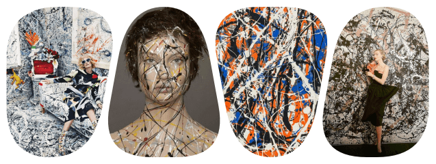 collage pollock